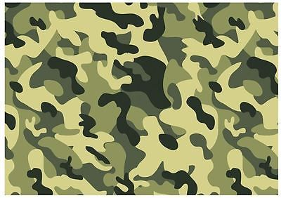 camouflage edible a4 icing sheets free shipping cake board decoration