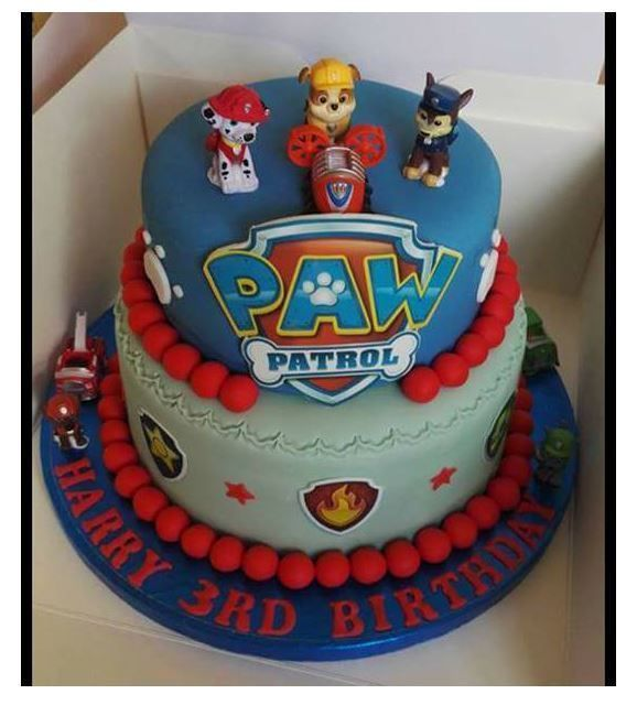 Edible Cake Images Review : Paw Patrol Cake Decor Edible Icing for Paw Patrol Theme Cakes